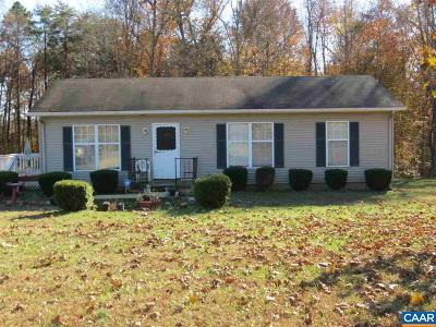Fluvanna County Single Family Home For Sale: 1520 Hunters Lodge Rd