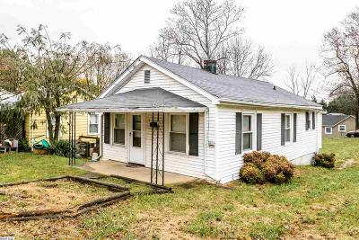 Staunton Single Family Home For Sale: 165 S Waverly St