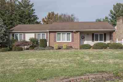 Harrisonburg Single Family Home For Sale: 1169 Springfield Dr