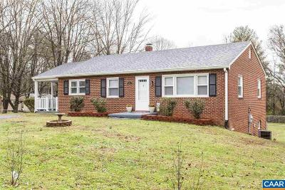 Albemarle County Single Family Home For Sale: 6495 Hillsboro Ln