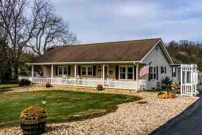 Harrisonburg Single Family Home For Sale: 750 Keezletown Rd