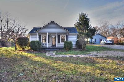 Charlottesville VA Single Family Home For Sale: $259,900