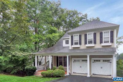 Charlottesville VA Single Family Home For Sale: $598,900