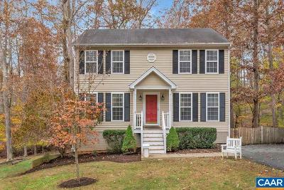 Fluvanna County Single Family Home For Sale: 11 Morewood Pl