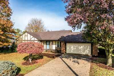 Harrisonburg Single Family Home For Sale: 1308 Meadowlark Dr