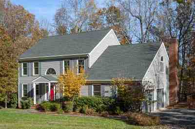 Albemarle County Single Family Home For Sale: 2455 Dunmore Rd