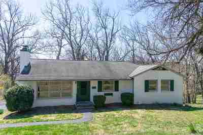 Staunton VA Single Family Home For Sale: $214,900
