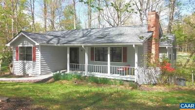 Fluvanna County Single Family Home For Sale: 11 Brassie Ter