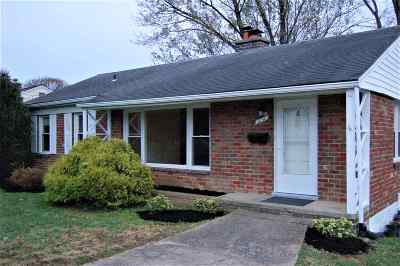 Harrisonburg VA Single Family Home For Sale: $206,900