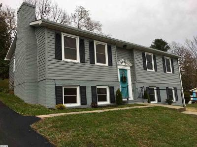 Staunton VA Single Family Home For Sale: $179,500