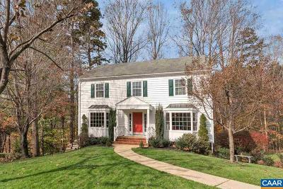 Charlottesville VA Single Family Home For Sale: $379,900
