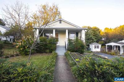 Charlottesville Single Family Home For Sale: 905 Elliott Ave