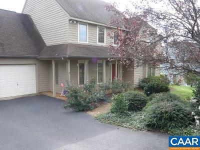 Charlottesville VA Single Family Home For Sale: $365,000