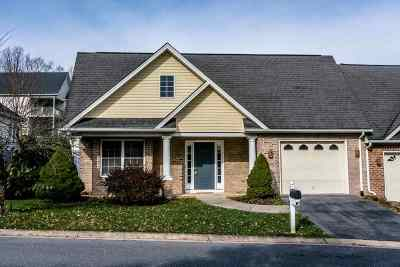 Harrisonburg, Mcgaheysville, Elkton, Bridgewater, Broadway Townhome For Sale: 3005 Arbor Ln