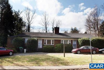 Charlottesville Single Family Home For Sale: 1918-20 Lewis Mountain Rd #1918 A-B