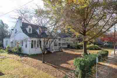Charlottesville Single Family Home For Sale: 1928 Lewis Mountain Rd #A
