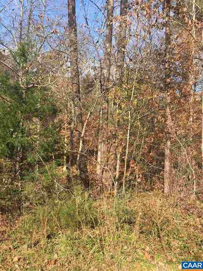 Fluvanna County Lots & Land For Sale: 640 Jefferson Dr