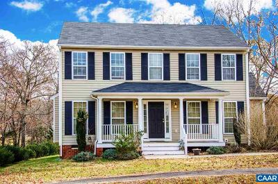 Fluvanna County Single Family Home For Sale: 496 Glen Cir