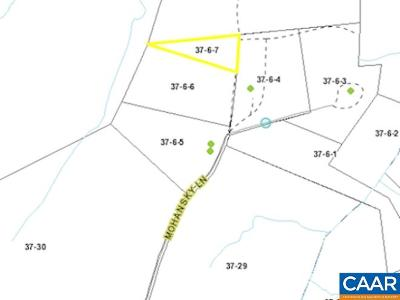 Buckingham County Lots & Land For Sale: Lot 7 Mohansky Route 655