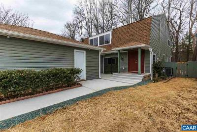 Charlottesville Single Family Home For Sale: 1505 Lake Forest Dr