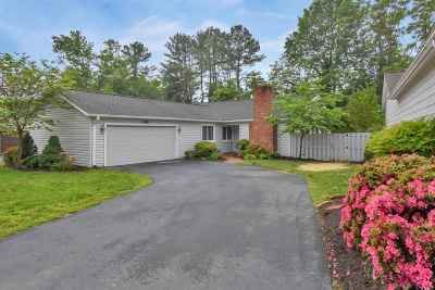 Charlottesville Single Family Home For Sale: 288 Tennis Dr