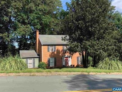Charlottesville Single Family Home For Sale: 2921 Brookmere Rd