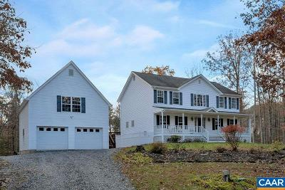 Albemarle County Single Family Home For Sale: 295 Glendower Rd