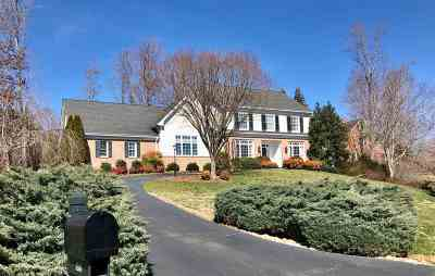 Albemarle County Single Family Home For Sale: 3200 Darby Rd