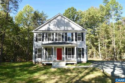 Fluvanna County Single Family Home For Sale: Lot 5 Panorama Ct