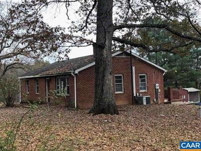 Albemarle County Single Family Home For Sale: 4543 Advance Mills Rd