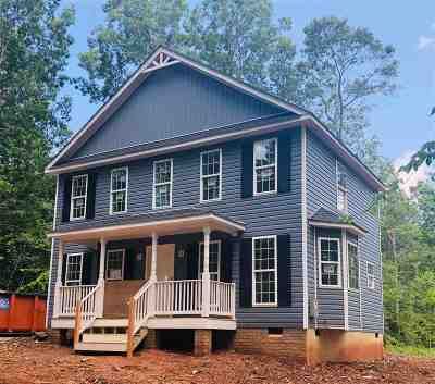 Louisa County Single Family Home For Sale: Lot 1 Courthouse Rd