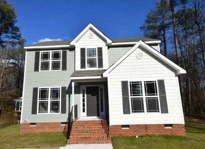 Louisa County Single Family Home For Sale: Lot 2 Courthouse Rd
