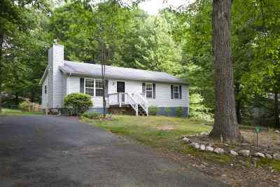 Fluvanna County Single Family Home For Sale: 16 East Point Rd