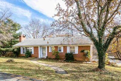 Staunton VA Single Family Home For Sale: $179,900