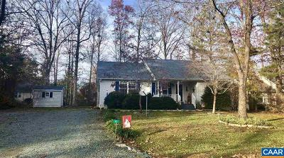 Fluvanna County Single Family Home For Sale: 12 Englewood Dr