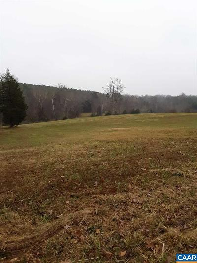 Fluvanna County Lots & Land For Sale: 700 Stage Junction Rd