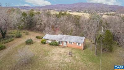 Albemarle County Single Family Home For Sale: 3384 Keswick Rd