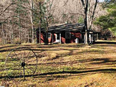 Single Family Home For Sale: 9591 Deerfield Rd