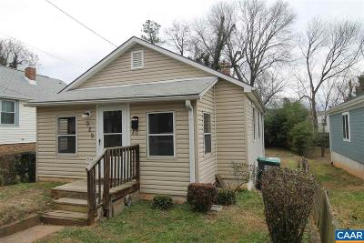 Charlottesville Single Family Home For Sale: 929 Charlton Ave