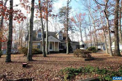 Fluvanna County Single Family Home For Sale: 72 Bolling Cir