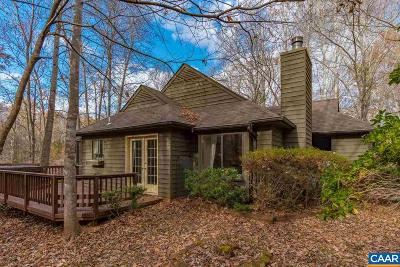 Charlottesville Single Family Home For Sale: 1615 Shady Grove Ct