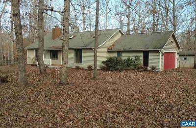 Fluvanna County Single Family Home For Sale: 3 Chip Ct