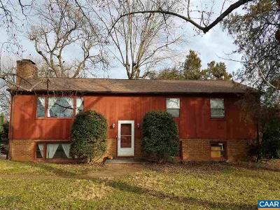 Charlottesville Single Family Home For Sale: 1317 Grove Rd