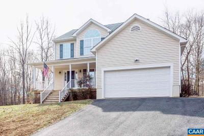 Fluvanna County Single Family Home For Sale: 25 East Point Rd
