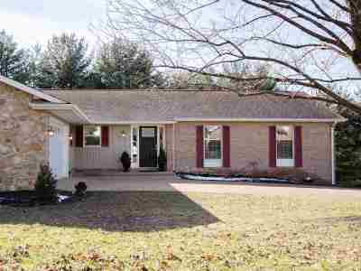 Harrisonburg VA Single Family Home For Sale: $344,900