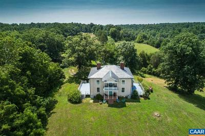 Scottsville Single Family Home For Sale: 143 B Hatton Ferry Rd