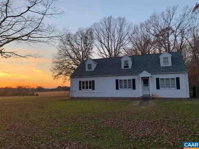 Fluvanna County Single Family Home For Sale: 20307 James Madison Hwy