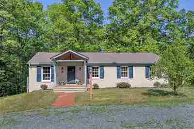 Scottsville Single Family Home For Sale: 4649 Rolling Rd