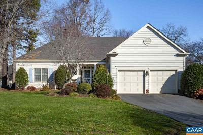 Albemarle County Single Family Home For Sale: 1463 Bremerton Ln