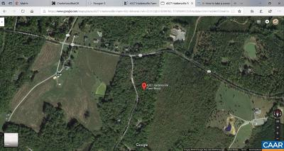 Lots & Land For Sale: 4327 Hadensville Farm Rd